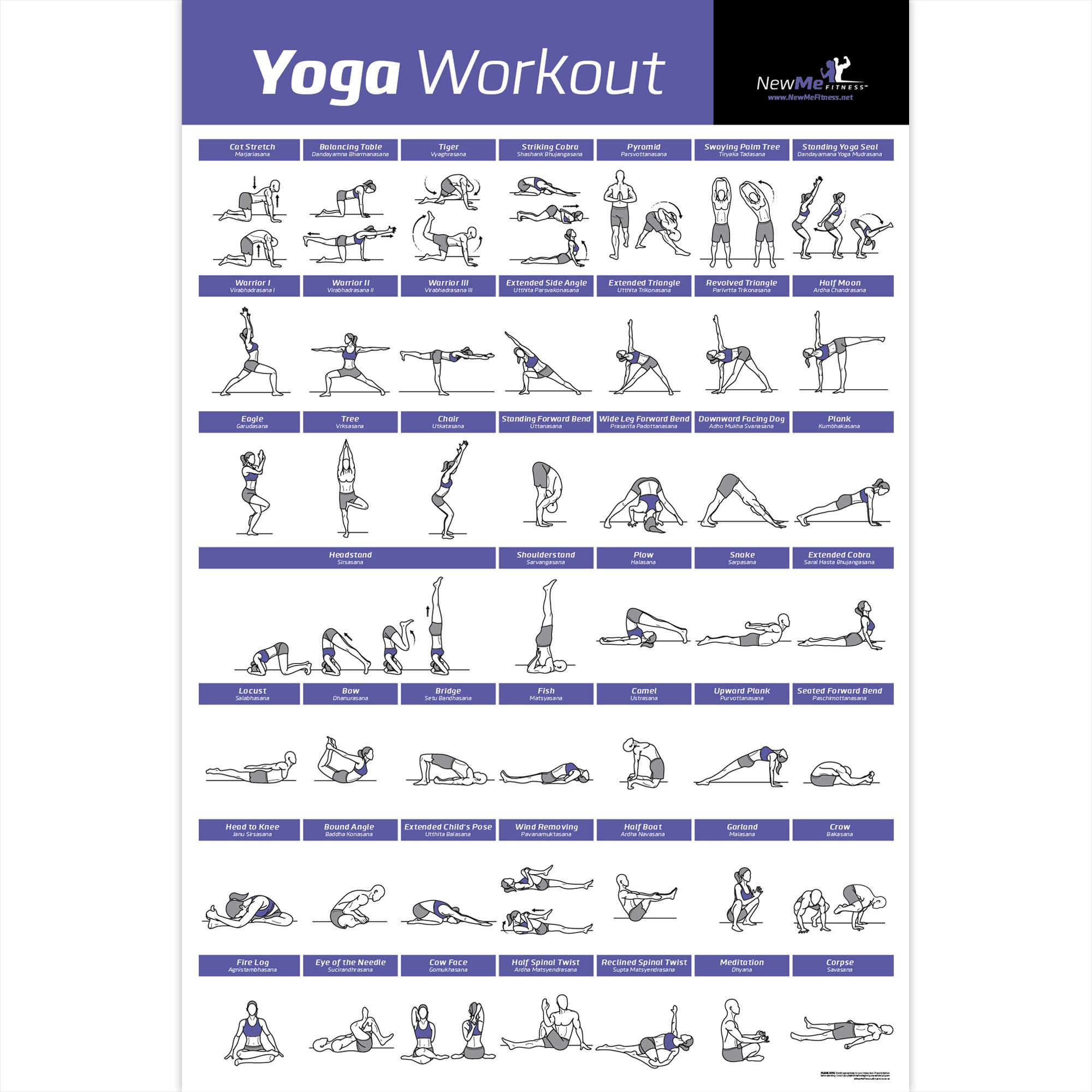 NewMe Fitness Premieres New Yoga Workout Poster on Amazon ...