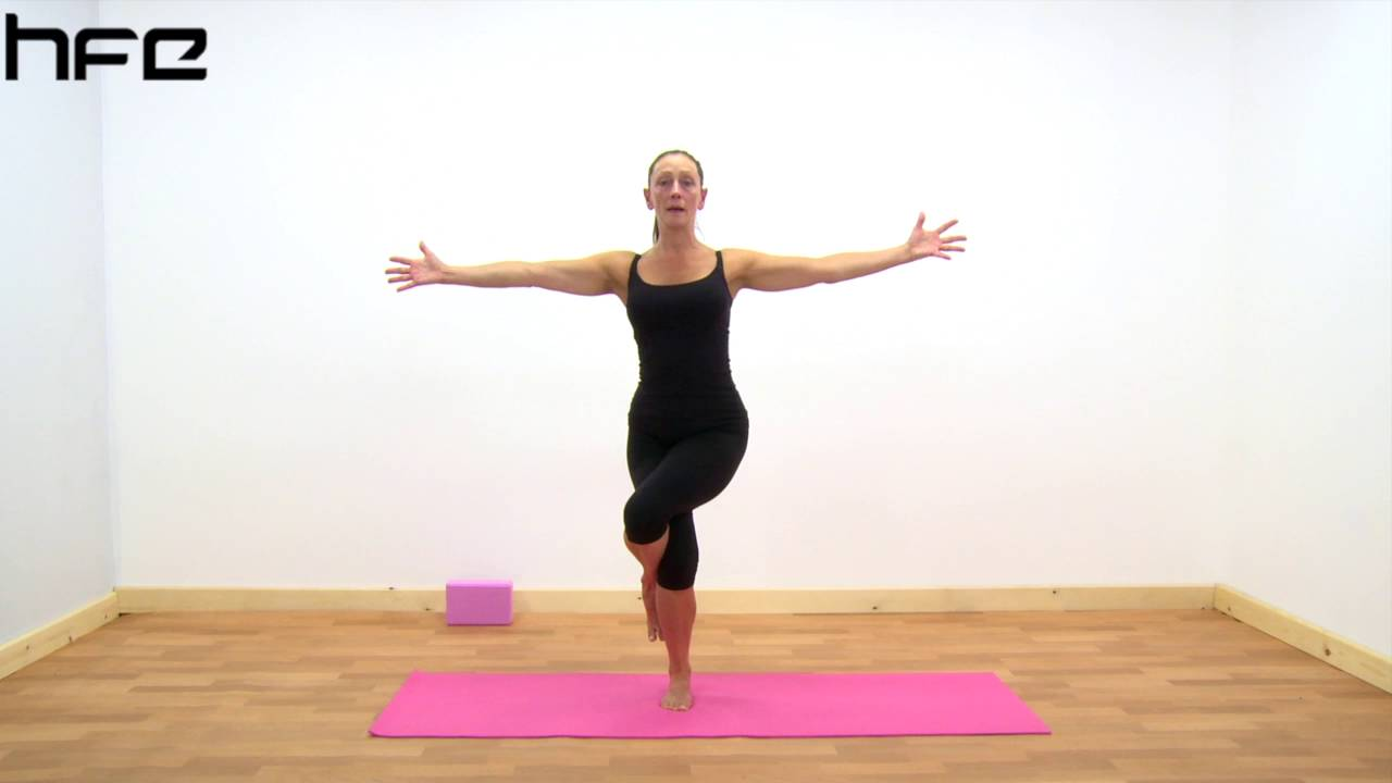 Yoga Poses - Garudasana (Eagle Pose) - YouTube