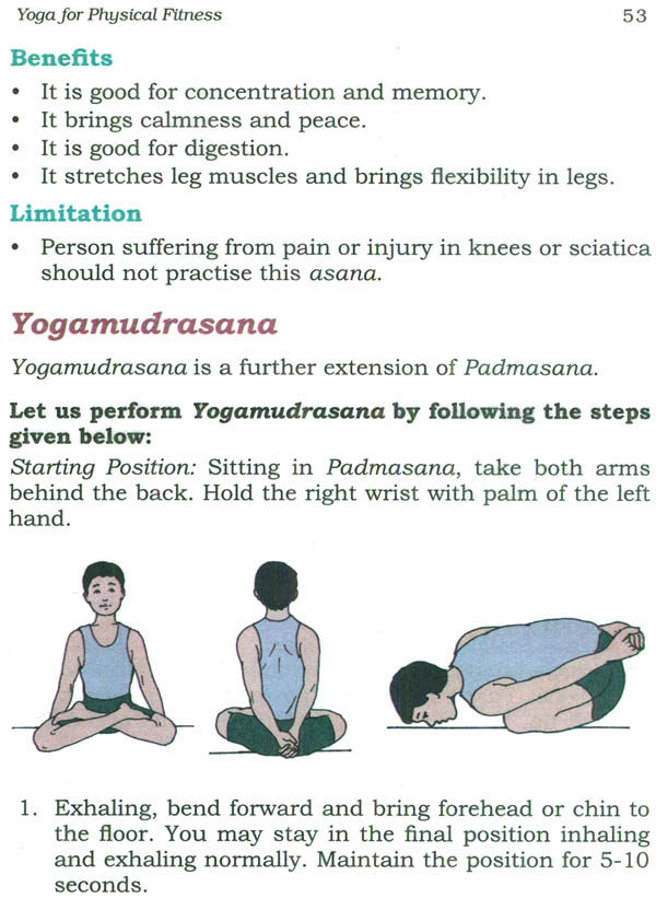 Yoga: A Healthy Way of Living (Upper Primary Stage)