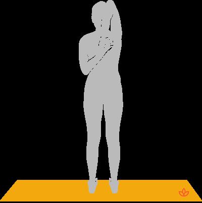 What is Tadasana Gomukhasana? - Definition from Yogapedia