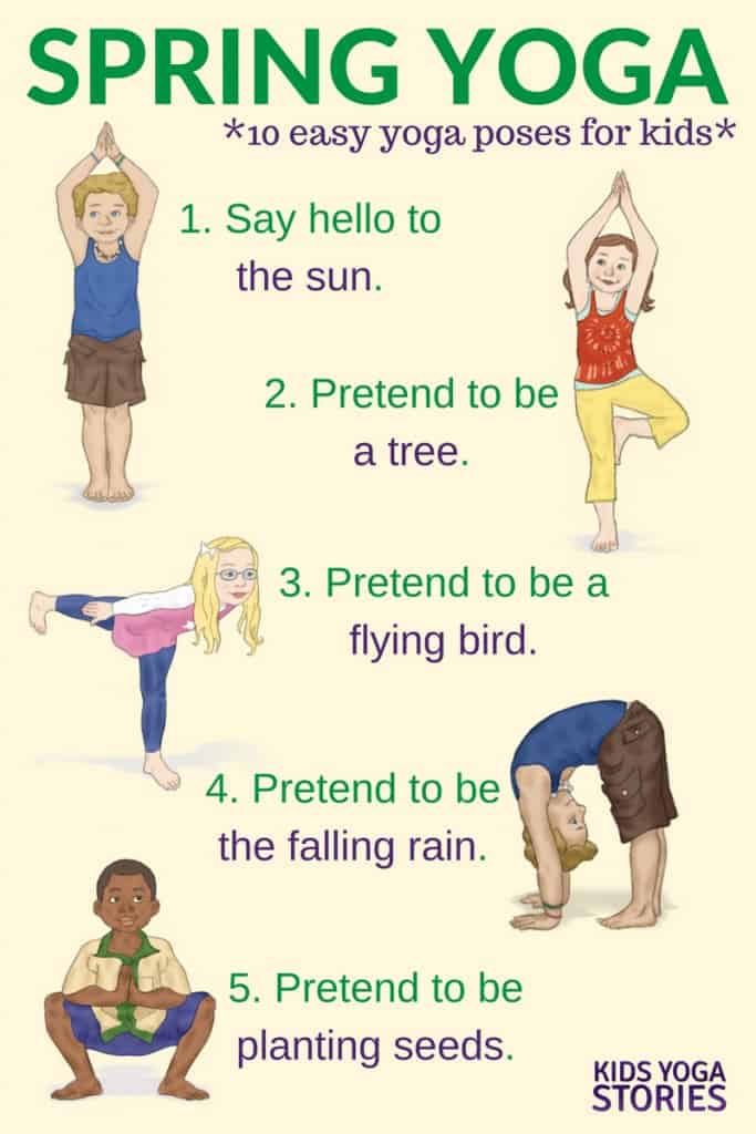 Spring Yoga and Benefits of Yoga for Kids | Parkland Players