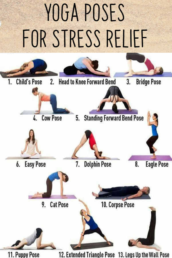 Easy Yoga Poses for Stressed Out Moms - Yoga Poses for ...