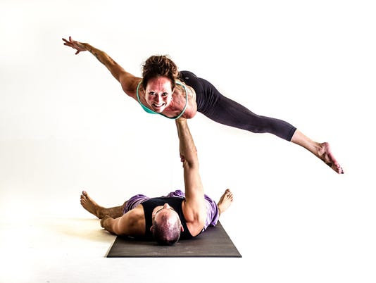 AcroYoga catches on with demanding flights of fancy