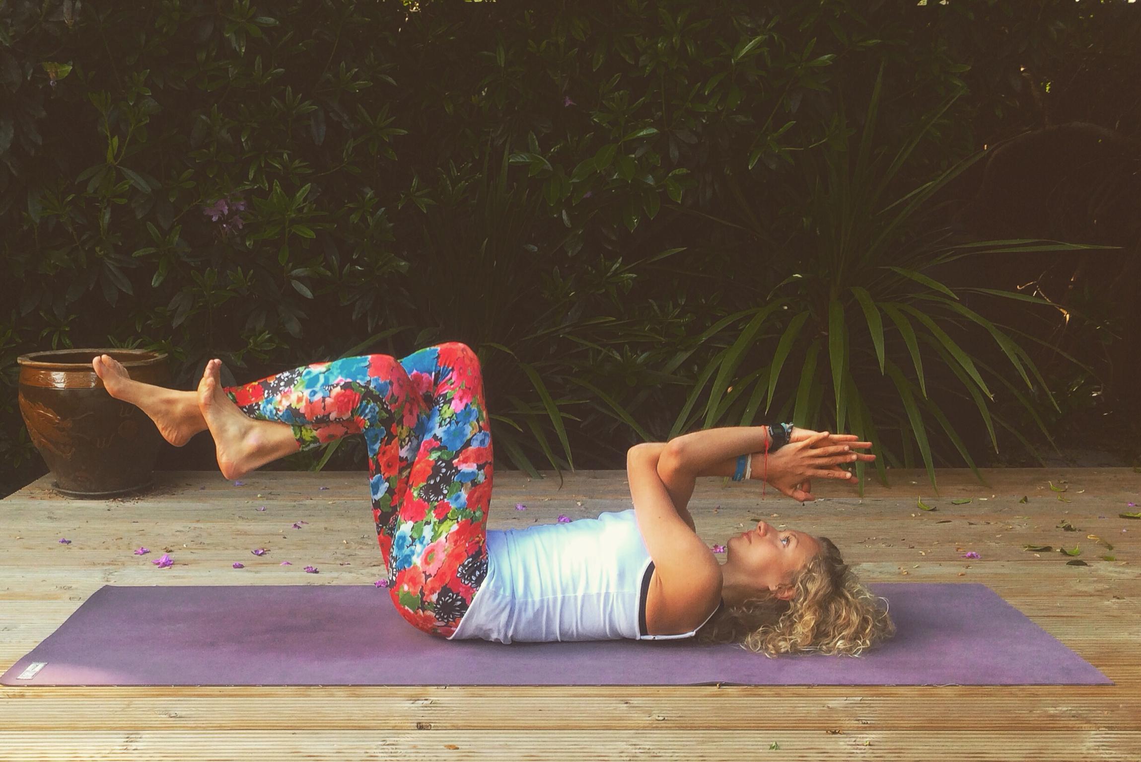 Practice: Supta Garudasana Variation – Emma Newlyn | Yoga ...