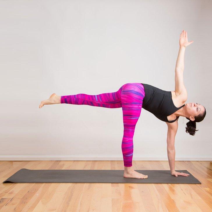 How to Do Rotated Half Moon Pose | POPSUGAR Fitness Australia
