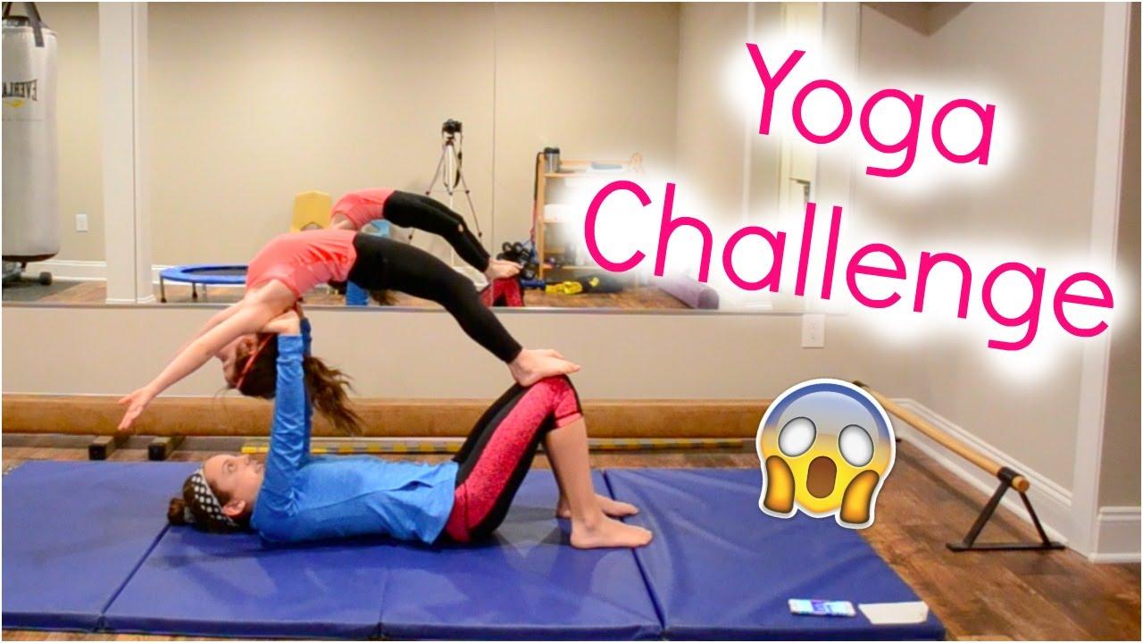 The Yoga Challenge! - YouTube