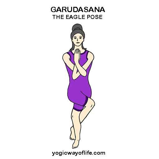 Garudasana - The Eagle Pose
