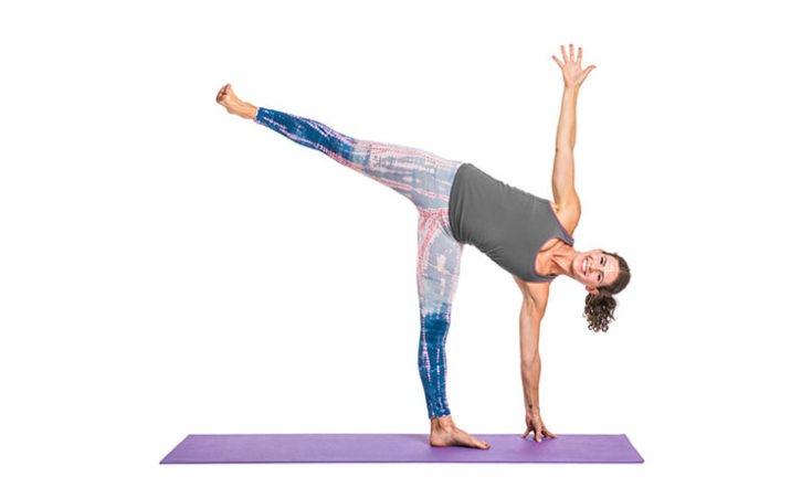 Ardha Chandrasana: Half Moon Pose - Yoga