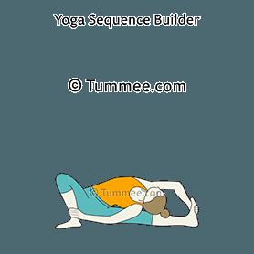 parivrtta janu sirsasana tummee  yoga poses