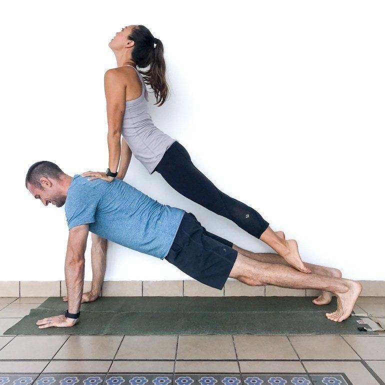 Couple S Yoga Poses 23 Easy Medium Hard Yoga Poses For Two People In 2020 Couples Yoga Poses Yoga Poses For Two Couples Yoga