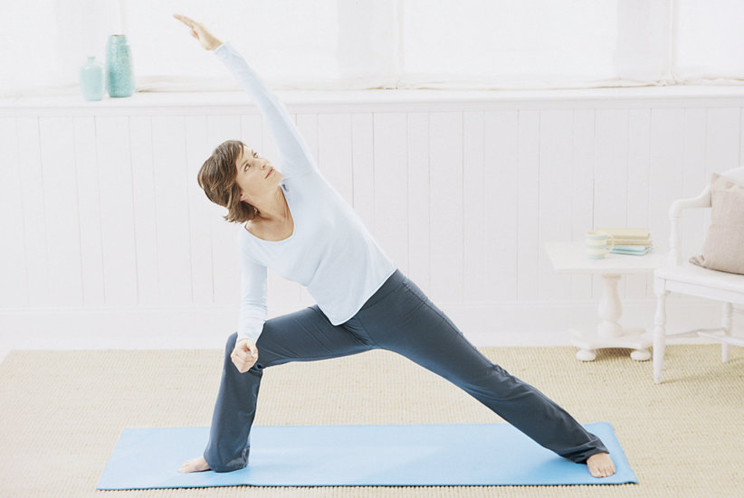 Easy Yoga Workout | Real Simple