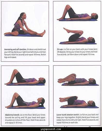 Yoga to help with lower back pain - YogaPoses8.com