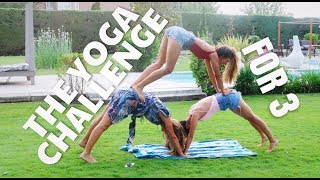 3 people yoga poses videos, 3 people yoga poses clips ...