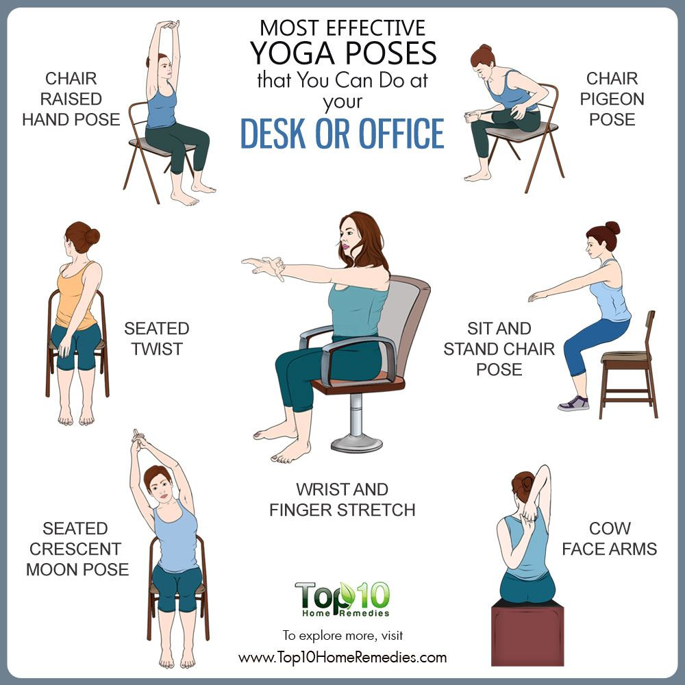 Most Effective Yoga Poses that You Can Do at Your Desk or ...
