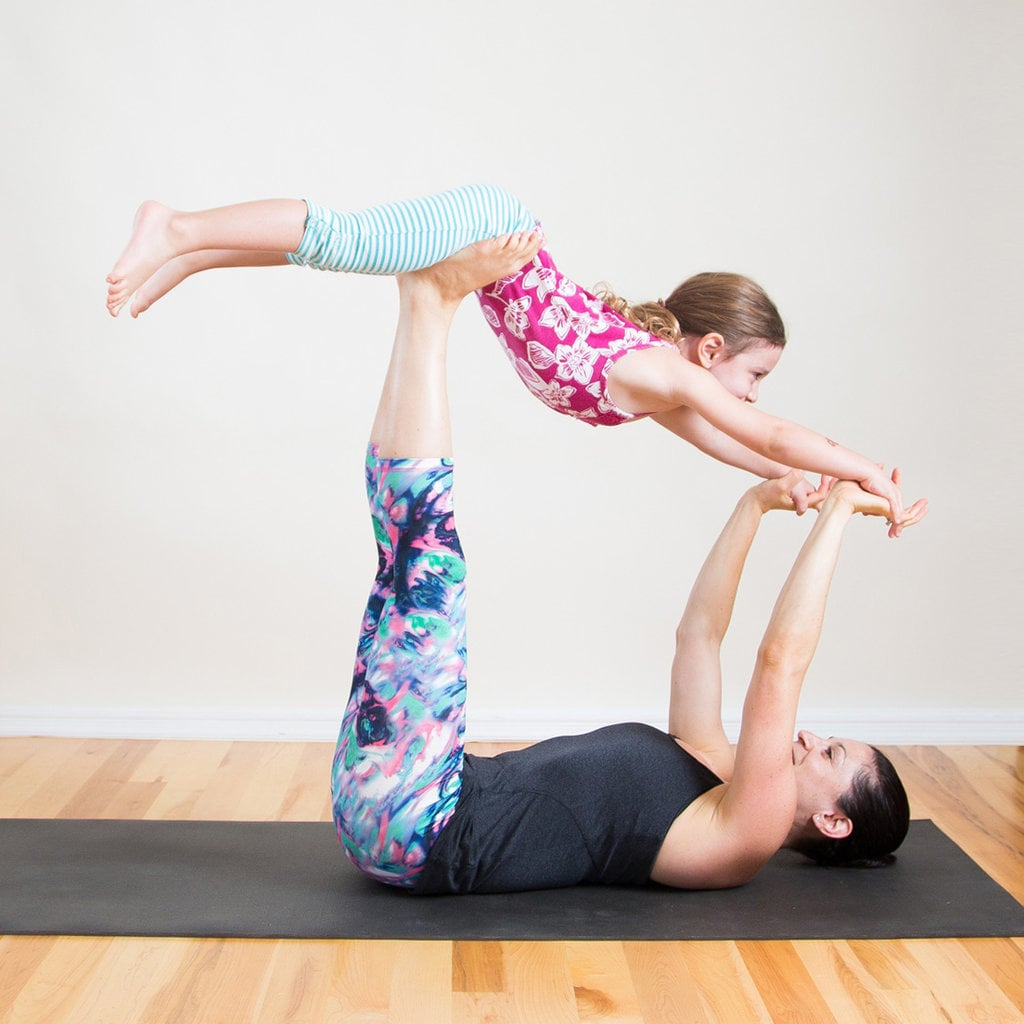 Mommy and Me Yoga Poses   POPSUGAR Fitness