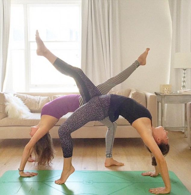 Ella Woodward stretches her talents with yoga pose by ...