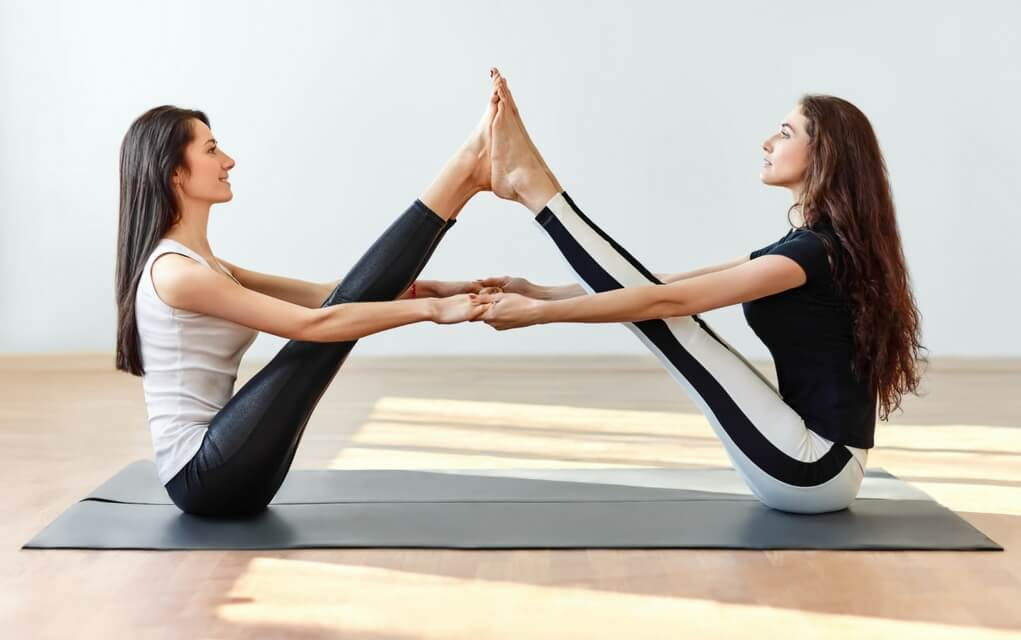 6 Fun Partner Yoga Poses to Try Today - Journeys of Yoga