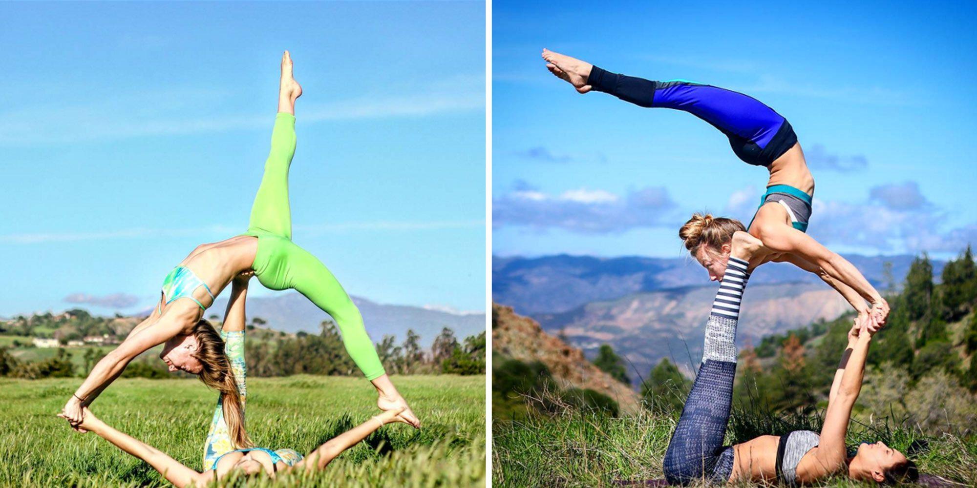 Partner Acro Yoga Challenge | Wajiyoga.co