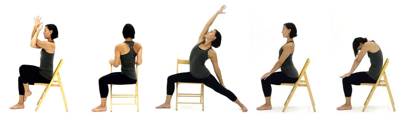 Chair Yoga - The Yoga Effect