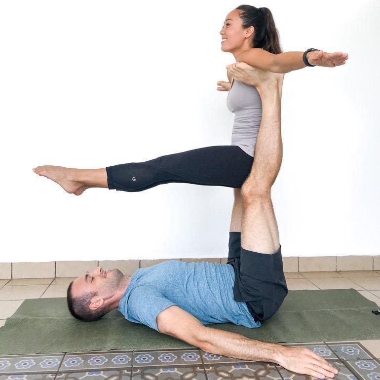 Yoga Challenge 2 Person Yoga Challenge Yoga Poses For Two ...